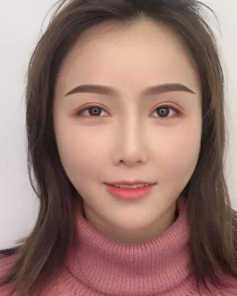 作品赏析 | 妆粉眉-打造春夏甜美少女风